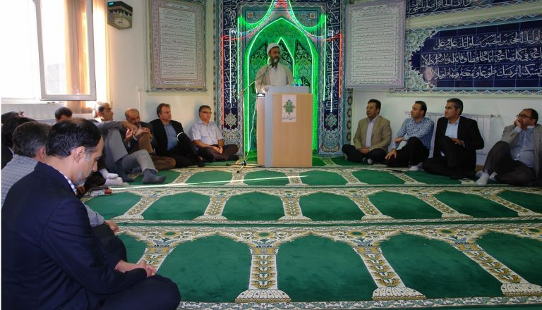 آئین گرامیداشت عید سعید غدیر - 29 شهریور 95 - ستاد صندوق بیمه کشاورزی