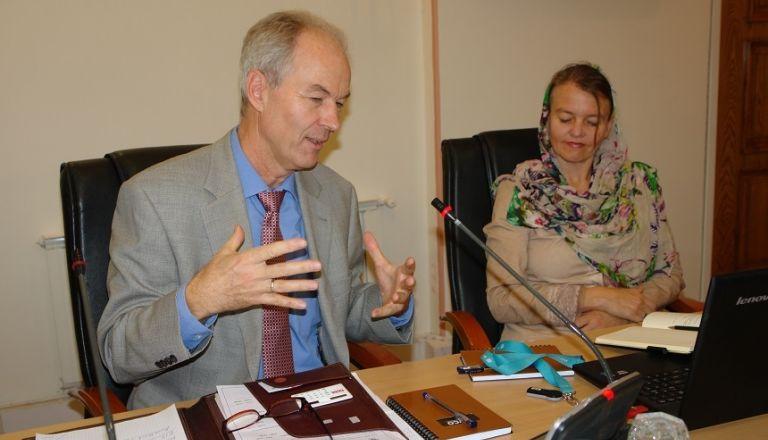 جلسه بحث و تبادل نظر و بهره گیری از تجارب جهانی شرکت بیمه اتکایی مونیخ ری در زمینه بیمه کشاوررزی